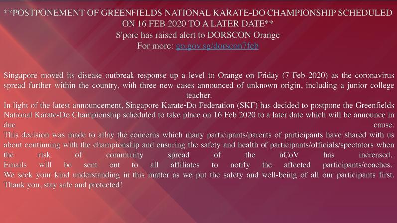 singapore karate